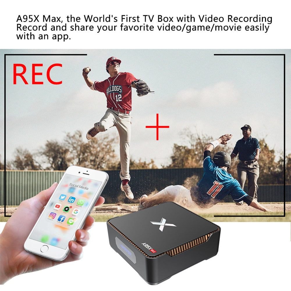 A95X MAX Amlogic S905X2 Android 8.1 4GB RAM 64GB ROM Smart TV Box (1)