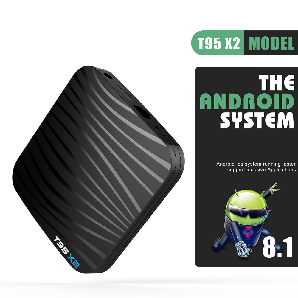 T95 X2 Smart TV Box Amlogic S905X2 Android 8.1 4GB DDR4 64GB (20)
