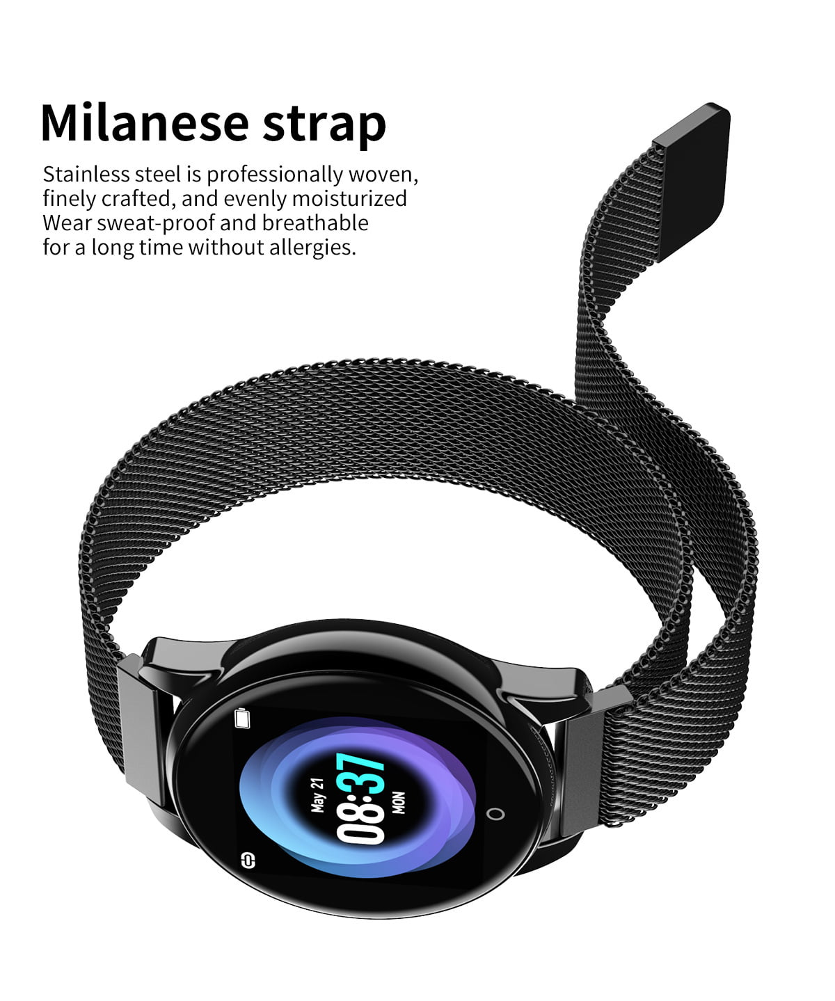 Watch 4 smart watch hd color screen wristband (2)